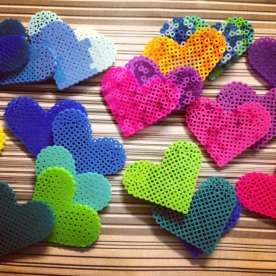 hearts galore.