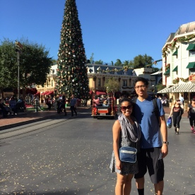 This was the first tree we saw at Disneyland. It was also the moment we realized taking pictures with all of the trees here would be difficult. Challenge accepted!
