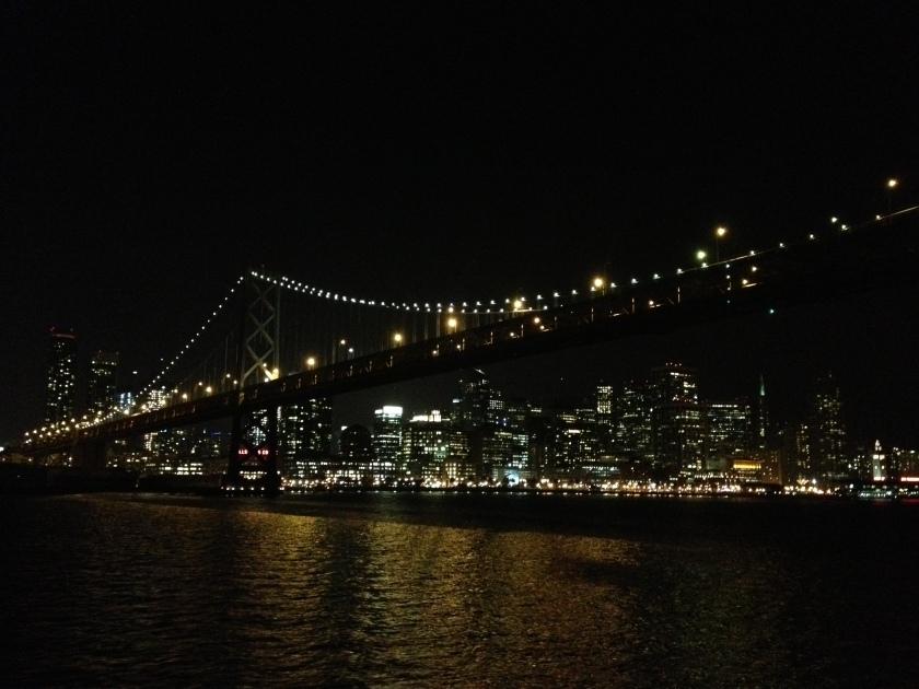 bay bridge + sf.