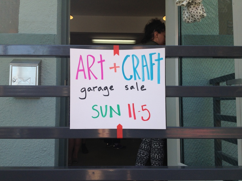 art & craft sale!
