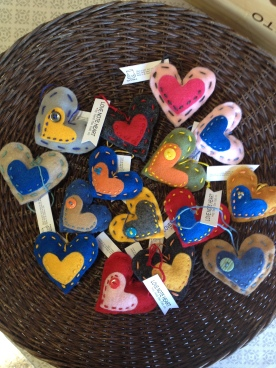 love note hearts.