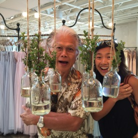 These two and an awesome glass and sprigs chandelier.