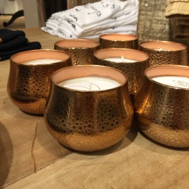 Copper votives. That's my jam.