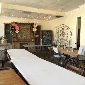 workshop space.