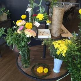floral bar.
