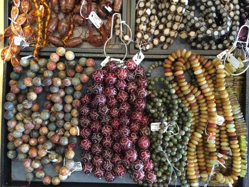 fancy beads.