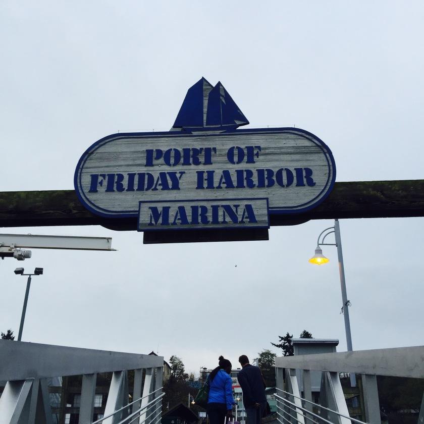 Friday Harbor.