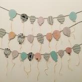 paper balloons.