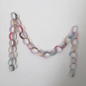 paper chain.