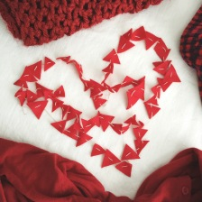 wear red day triangles.