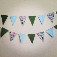 paper bunting.