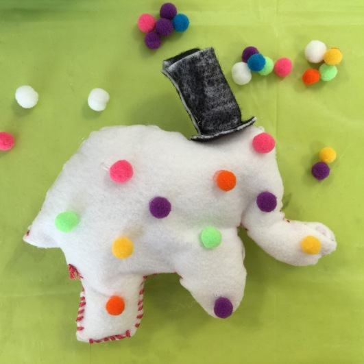 dapper elephant.