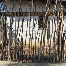 Stick walls.
