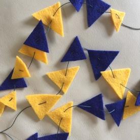 triangles.