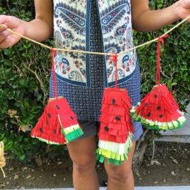 watermelon piñatas.