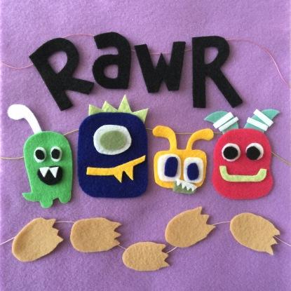 rawr monsters.