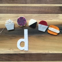 D is for desserts inspired by Good Butter Best.