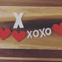 X is for XOXO inspired by Hearts and All.
