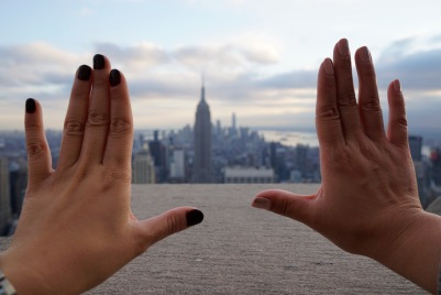 That empire state of mind.