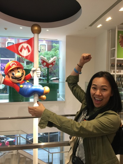 The Nintendo store.