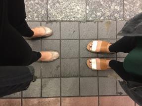 Subway life.